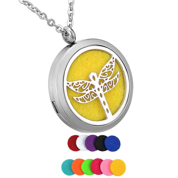 HooAMI Aromatherapy Essential Stainless Dragonfly - Dragonfly - CX12O7LYWGJ