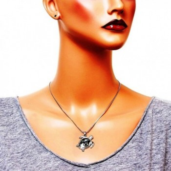DianaL Boutique Beautiful Abalone Necklace in Women's Pendants
