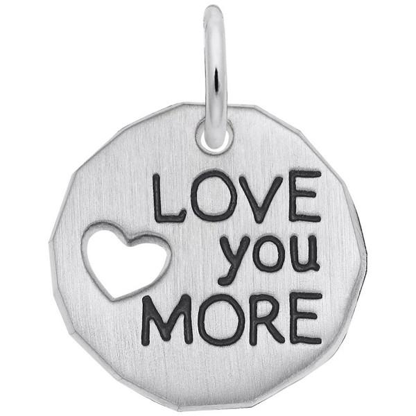 Rembrandt Charms- Love You More- Engravable - CB11ATELIJZ