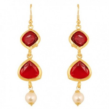 Touchstone Bollywood Exclusive Designer Earrings - CN186DINGXO