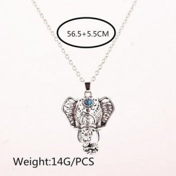 Cyntan Vintage Elephant Necklace Jewelry in Women's Pendants