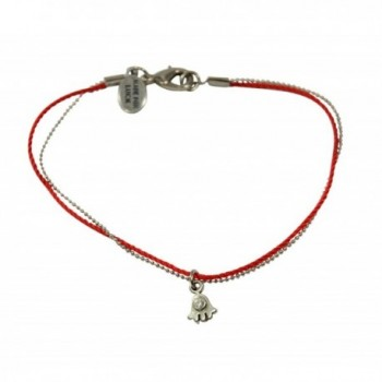 String Silver Anklet Protection Luck