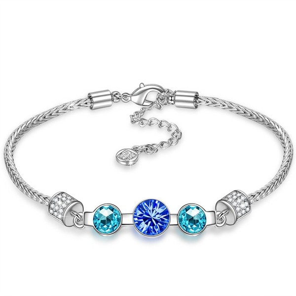 "QIANSE ""Childhood Memory"" Bracelet Made with Swarovski Crystals - CA184G9KZ27"