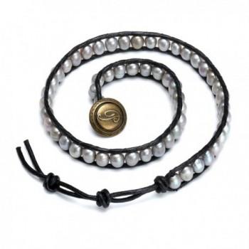 Aobei Handmade Cultured Pearl Bracelet
