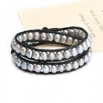 Aobei Handmade Cultured Pearl Bracelet in Women's Strand Bracelets