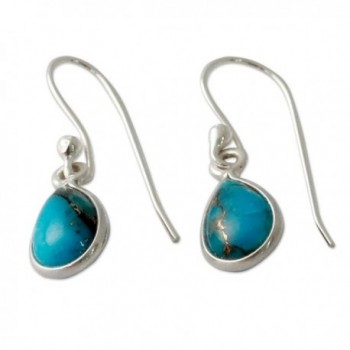 NOVICA Reconstituted Turquoise Sterling Beautiful