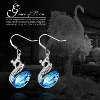 Earrigns CDE Swarovski Crystals Girlfriend in Women's Drop & Dangle Earrings