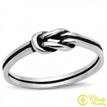 Women's Fashion Jewelry Ring- Premium Grade High Quality Stainless Steel- by Classy Not Trashy - CY11KV7DRCH