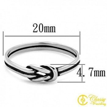 Classy Not Trashy Stainless Infinity in Women's Statement Rings
