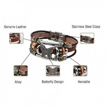 LNKRE JEWELRY Leather Pendants Bracelets