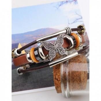 LNKRE JEWELRY Leather Pendants Bracelets in Women's Strand Bracelets