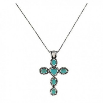Montana Silversmiths Necklace Womens Desert Love and Faith Turq NC1781 - CC12C0WW9VF