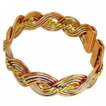 Womens Copper Magnetic Bracelet Medium in Women's Cuff Bracelets