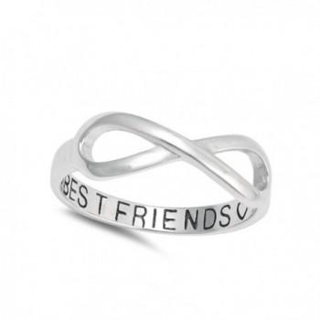 Infinity Friends Sterling Silver Friendship