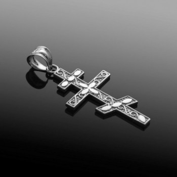 Sterling Russian Orthodox Pendant Necklace