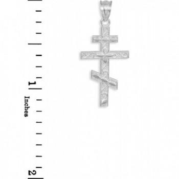 Sterling Russian Orthodox Pendant Necklace in Women's Pendants
