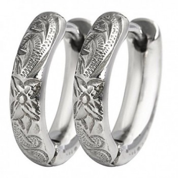 Hawaiian Hoop Earrings by Austaras - Feel Beautiful Look Shiny - CI189YGCM7R