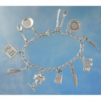Bracelet Pewter Cooking Baking Stainless