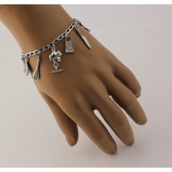 Bracelet Pewter Cooking Baking Stainless in Women's Charms & Charm Bracelets