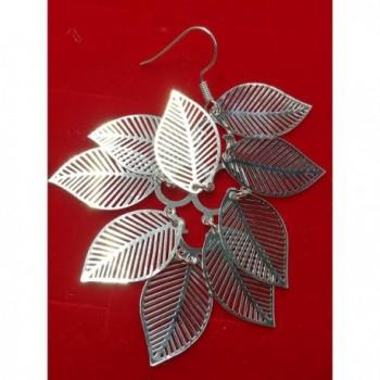 Foreverstore Sterling Earrings Fashion Silver I in Women's Drop & Dangle Earrings