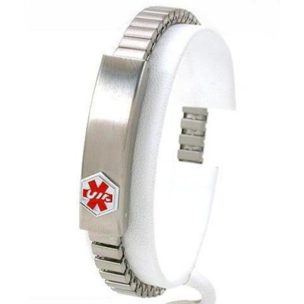 "Medical ID Information Bracelet Stainless Steel 7"" - CK113F325RH"
