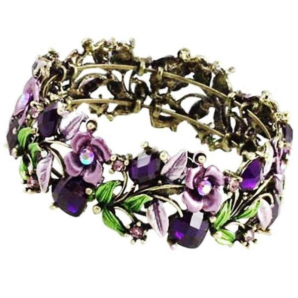 DianaL Boutique Gorgeous Bracelet Enameled - CE118QX2JZ9