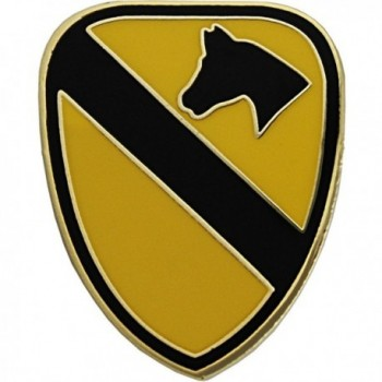 "U.S. Army 1st Cavalry Division 7/8"" Lapel Pin - C011BQLL0IF"
