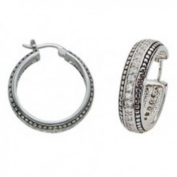 Montana Silversmiths Womens Western Crystals with Stud Trim Earrings Silver - CM11B9P1PXD