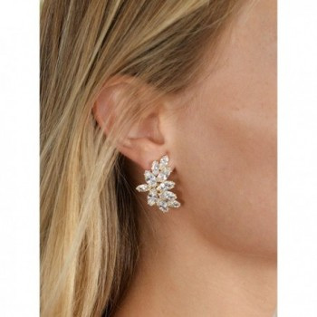 Mariell Shimmery Zirconia Occasion Earrings in Women's Stud Earrings