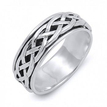 Sterling Silver Wedding Engagement Spinner