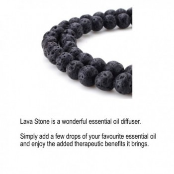 Healing Natural Turquoise Stretch Bracelet in Women's Strand Bracelets