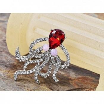 Alilang Octopus Swarovski Crystal Rhinestone