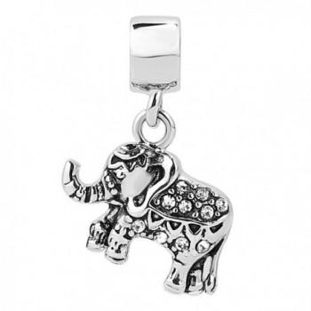 Roy Lopez Elephant Dangle Bracelets
