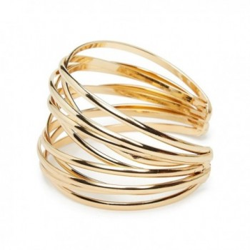 ViViCaSa Adjustable Polished Bangle Bracelet