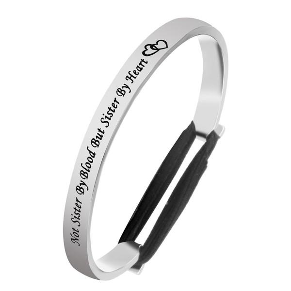 Lywjyb Birdgot Friends Bracelet Hairband - Silver - CZ188U30NCC