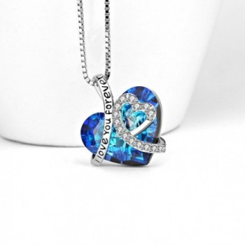 Necklace Sterling Swarovski Anniversary Girlfriend