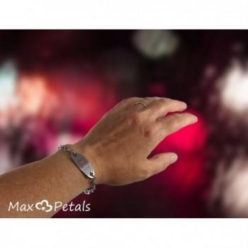Max Petals Diabetes Identification Bracelet in Women's ID Bracelets
