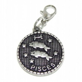 """Jewelry Monster Clip-on """"Horoscope or Astrological Sign"""" Charm Bead - CJ11TOXDK6H"""