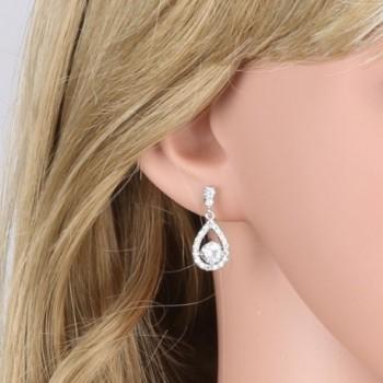GULICX Dazzling Flawless Zirconia Earrings