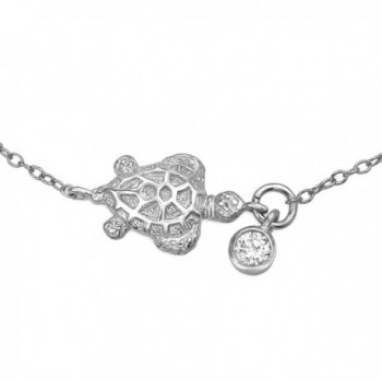 Bling Jewelry Silver Nautical Turtle