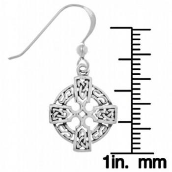 Jewelry Trends Sterling Knotwork Earrings in Women's Drop & Dangle Earrings