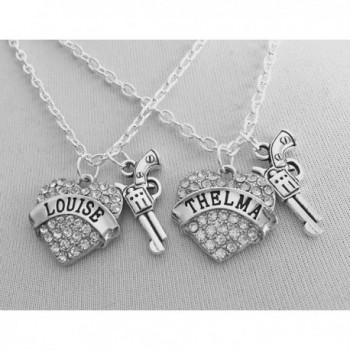 Thelma Louise Necklaces Thinbleful Threads in Women's Pendants