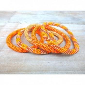 Elegant Orange Handmade Bracelets bracelet
