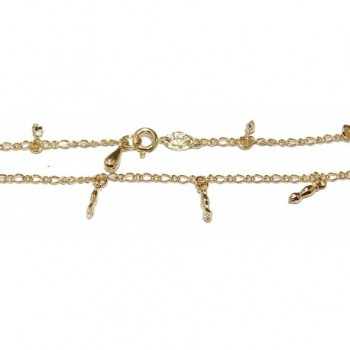 Charm Anklet Plated Jewelry Chain