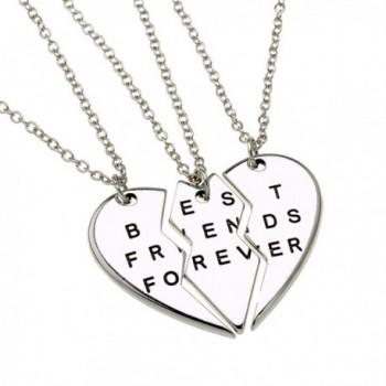 ISHOW Broken Friends Forever Necklace