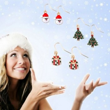Miraculous Garden Christmas Earrings Thanksgiving