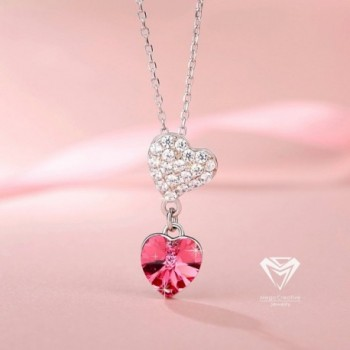 MEGA CREATIVE JEWELRY Sterling Swarovski in Women's Pendants