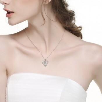 YFN Sterling Infinity Pendant Necklace in Women's Pendants