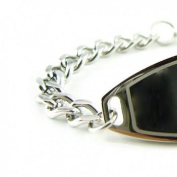 MyIDDr Pre Engraved Customized Medical Bracelet in Women's ID Bracelets