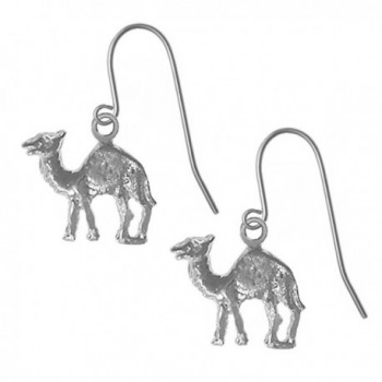"Alcoholics Anonymous Earrings- 730-13- Ster. Camel (""Can Go 24 Hours Without a Drink"") - CH1162QM96B"
